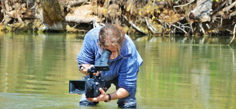 Luis Centurion. Rodaje rio Tajo - Iliada Films
