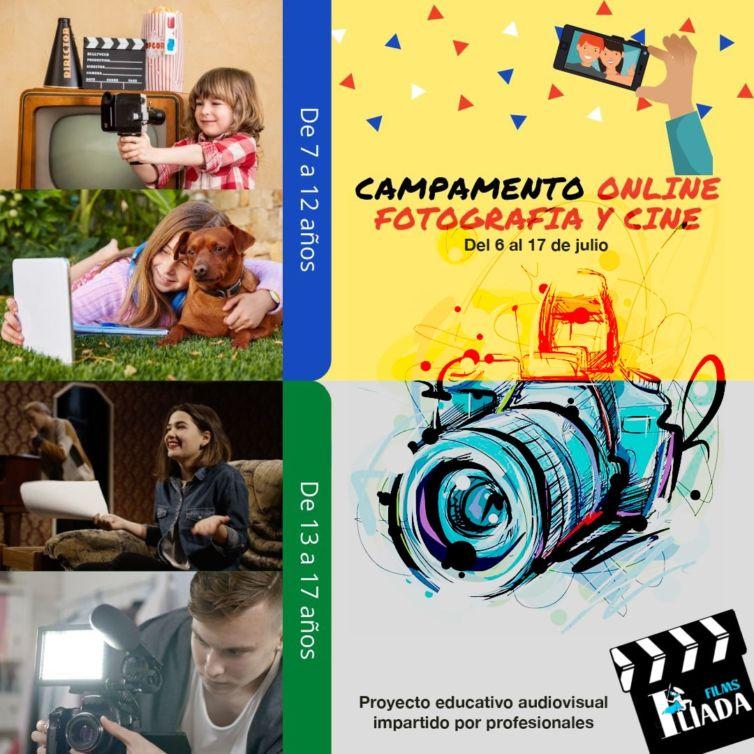 CAMPAMENTO ONLINE DE FOTOGRAFÍA Y CINE