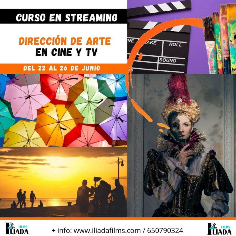 DIRECCIÓN DE ARTE EN CINE – Taller en streaming